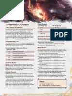 Warlock Chaos Incarnate Patron _ GM Binder