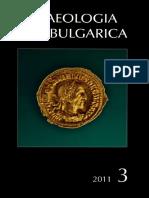 Archelogia Bulgarica 3_2011