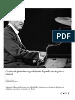 Cérebro de Pianistas Reage Diferente Dependendo Do Gênero Musical - Aliás - Estadão