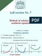 Lab Session 7