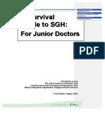 SGH HO Handbook 2009
