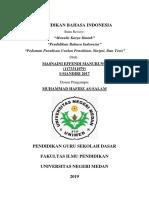 Cbr Bahasa Indonesia Semester 4