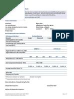 MEG4 Mooring Line Base Design Certificate