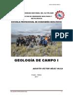 Manual de Geología de Campo i