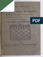 Délices royales, ou le Jeu des échecs. Abraham ibn Ezra