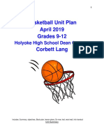 dean basketball unit plan