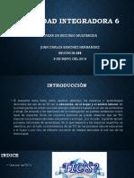 El uso de las TIC actividad integradora 6