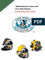 Manual de Mantenimiento a Cascos de Buceo Kirby Morgan