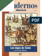 Cuadernos Historia 16 057 1996 - Los Viajes De Colón.pdf