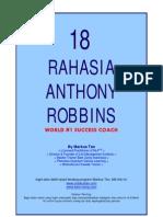 18 Rahasia Anthony Robbins