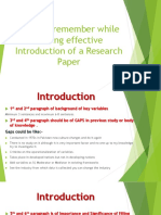 how to write effective introduction of an article