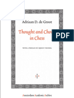 Thought and choice in chess by Adriaan D. de Groot