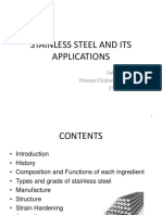 SEMINAR 1 - STAINLESS STEEL AND ITS APPLICATIONS.pptx