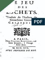 Le Jeu Des Eschets