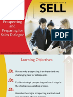 Chapter 3 Strategic Prospecting and Preparing for Sales Dialogue