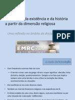 A Narração Da Existência e Da História a Partir Da Dimensão Religiosa JUAN AMBRÓSIO