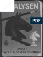 Analysen van A. V. R. O.'s wereld-schaak-tournooi, door Max Euwe
