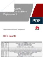 SRAN10 - Typical BSC6900 Hardware Components Replacement