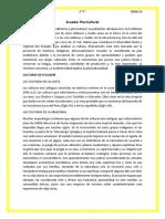 Ecuador Pluricultural