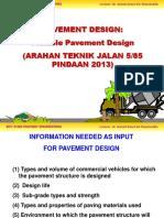 Chapter 3 - Pavement Design (Flexible_JKR2013).pptx
