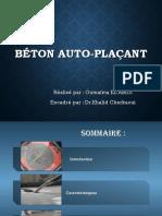 Béton auto-plaçant et béton auto-nivelant.pptx