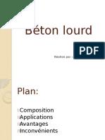 Béton lourd