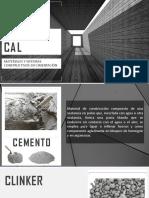 Cemento y Cal (material de exposición)