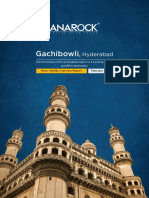 Gachibowli, Hyderabad - Micro Market Overview Report