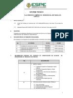 Informe Técnico Sistemas Logísticos Catty
