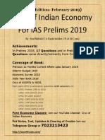 Feb 2019 Edition-Crux of Indian Economy for IAS Prelims 2019.pdf