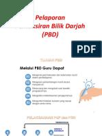 Pelaporan PBD 2019