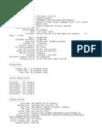 System Info