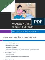 MANEJO NUTRICIONAL EN EL NIÑO ENFERMO.pptx