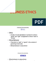 Business Ethics-lecture Slides 1