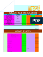 Wealth Tax Calculation