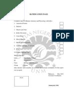 Ratification Page Bundel
