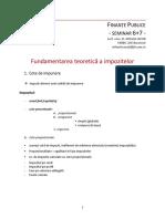 Fundamentare impozite_teorie+studii