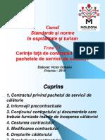 Curs 13 Contract Servicii Calatorie - Codul Civil