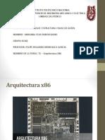 T1 – Arquitectura X86 (1)