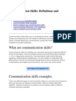 Communication Skill1