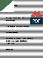 Programa Do Congresso de 2019