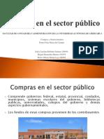 Compras en El Sector Publico