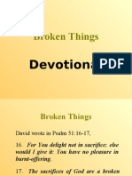 Broken Things (Devotional)