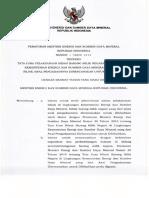 Permen ESDM Nomor 1 Tahun 2019