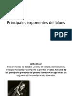 Principales Exponentes Del Blues