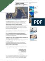 ¿Qué Es La Investigación Documental_ Definición y Objetivos - Investigación Científica