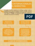 Canales Internacionales Del Marketing