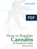 How to Regulate Cannabis Executive Summary