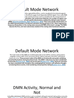 Default Mode Network and Meditation