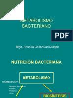 7ta Clase-.- Metabolismo Bacteriano